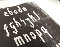 Blockletter-Printing Plate Experiments
