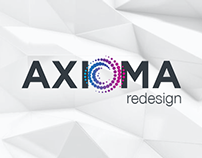 Axioma web site redesign