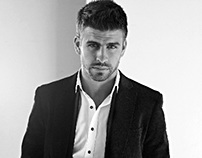 Gerard Piqué for HE by Mango FW 12/13