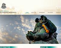 Web design : slipakorn university