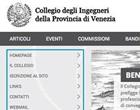Collegio Ingegneri Venezia - WebDesign