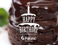 Cumpleaños Pacific Rubiales