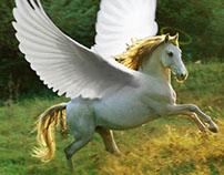 Divine Horse- Photomanipulation