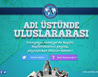 Uluslararası Üniversite Microsite