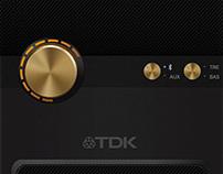 TDK Q35 interface design