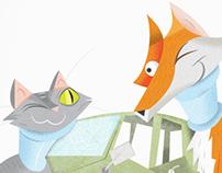Cat & Fox