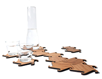 Zesch interlocking coasters/ trivets