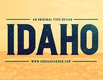 FREE FONT Type Design: IDAHO