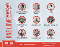 ONE LOVE  |  Event Promotional Materials