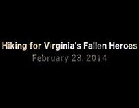 Hiking for VA Fallen Heroes: February 23 2014
