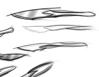 Protection Knives Renderings by Gillette