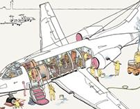U-jet Magazine Airplane