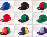 JUSTICE LEAGUE INSPIRED 59FIFTYs CAP COLLECTION