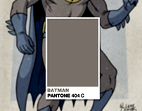 Retro Superheroes Pantone