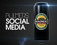 Bulmers Social Media icons