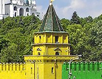 Coloured Kremlin