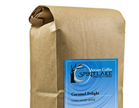 Package Design-Spirit Lake Coffee
