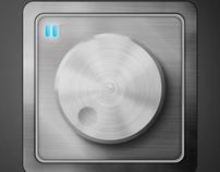 Audio controller UI