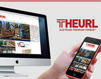 Theurl Austrian Premium Timber - Website Relaunch