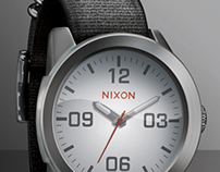 Nixon Corporal Watch Render