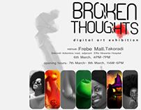 BROKEN THOUGHTS digital art exhibition