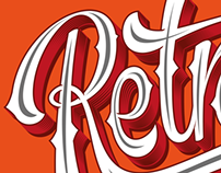 Retropolis / Lettering / Illustration