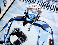 2014 Wilkes-Barre/Scranton Penguins All-Star Poster