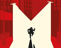 "Fritz Lang´s ""M"" poster"