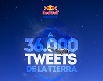 RED BULL STRATOS. Acción en Twitter.