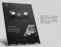 Hotel Deluxe website design