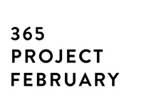 365 Lettering Project (February)