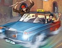 affiche de Festival de la BD de Tétouan  (non officiel)