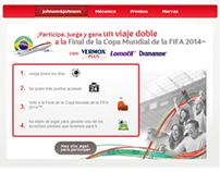 J&J OTC FIFA 2014™ Facebook Tab