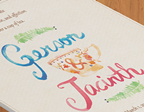 Gerson & Jacinth | Wedding Invitation