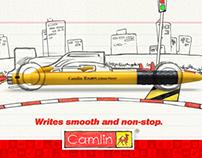 Camlin pen pencil TVC (CG work only)