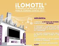 Lomotil® Facebook Tabs 2013