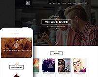 PSD Template - Vastudio Creative One Page