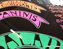UNSU Hand Painted Menu Boards 2013 Pt2