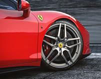 Ferrari 458 Khan Red