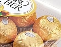 CGI Ferrero Rocher Box