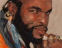 Sketch Dailies Portraits - 80s Week