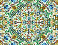 Exotic Round Pattern Series