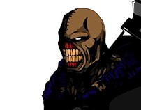 Resident Evil's tyrant, Nemesis
