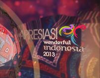Opening Bumper Apresiasi Wondeful Indonesia 2013