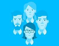 SSBD - Flat Icons & Portraits