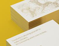 Premium Gold Card Mock-Up