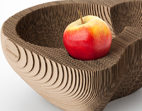 Fruit bowl '128' | cardboard