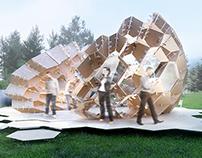 1st Belarusian Parametric Pavilion