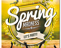 Spring Party Flyer