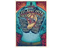 Proceso Afiche Lollapalooza / Process